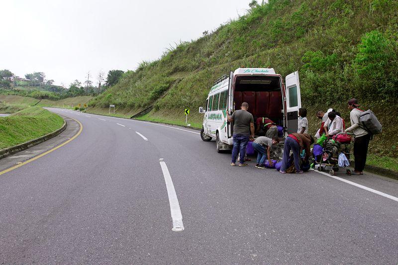 Despite closed border and pandemic, desperate Venezuelans return to Colombia