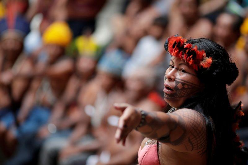 Brazilian indigenous leader wins Robert Kennedy rights award