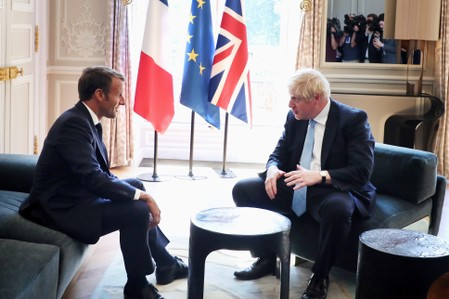Too late for new Brexit deal, Frances Macron tells Johnson