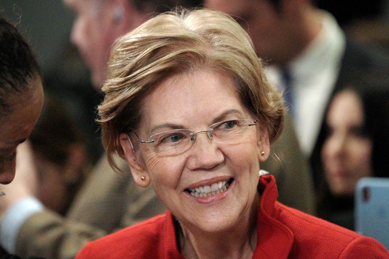 Warren warns democracy hangs in the balance in New Years Eve speech