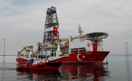 EU threatens Turkey with sanctions over Cyprus drilling: draft