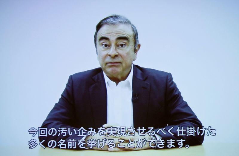 Lebanon receives Interpol arrest warrant for ex-Nissan boss Ghosn