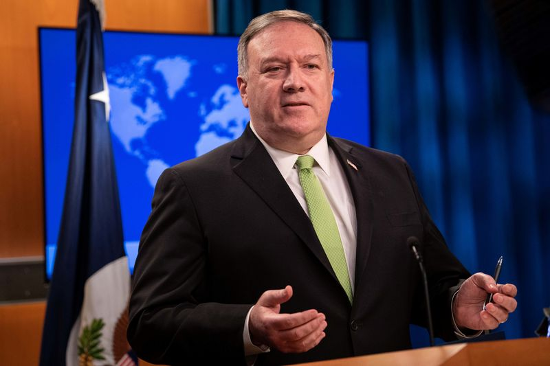 Pompeo calls China virus response paltry compared to damage done