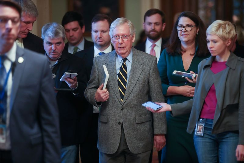 Senate should set aside witness dispute and start impeachment trial: McConnell