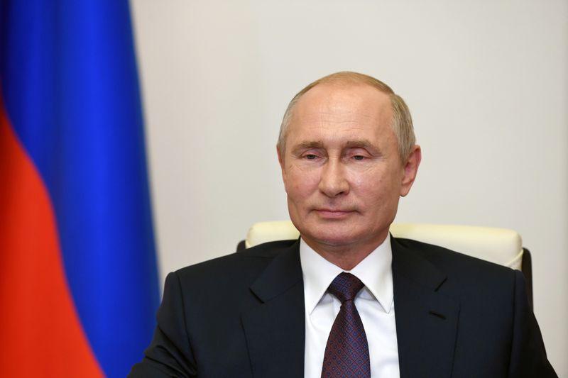 Putin says alleged mercenaries were lured to Belarus by foreign spy operation