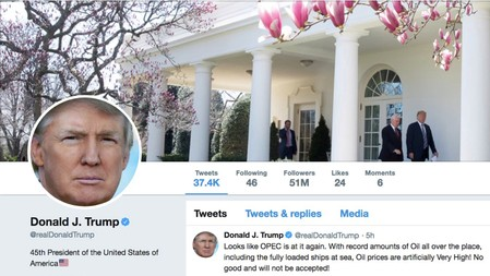 Trump challenges court ruling barring him from blocking Twitter users