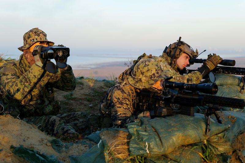South Korea, U.S. commandos practice raiding enemy facility as North Korea tensions rise