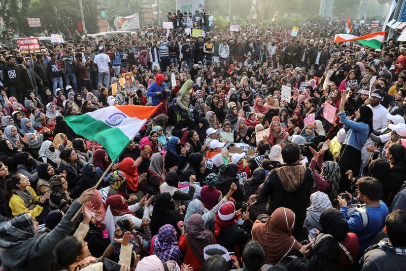 Modi says citizenship law not anti-Muslim as protests continue across India