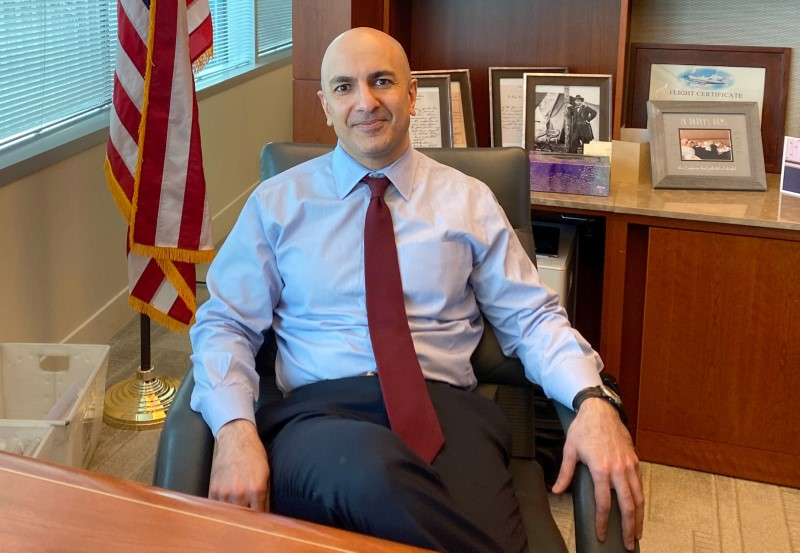 Feds on hold but next move may be rate cut, Kashkari says