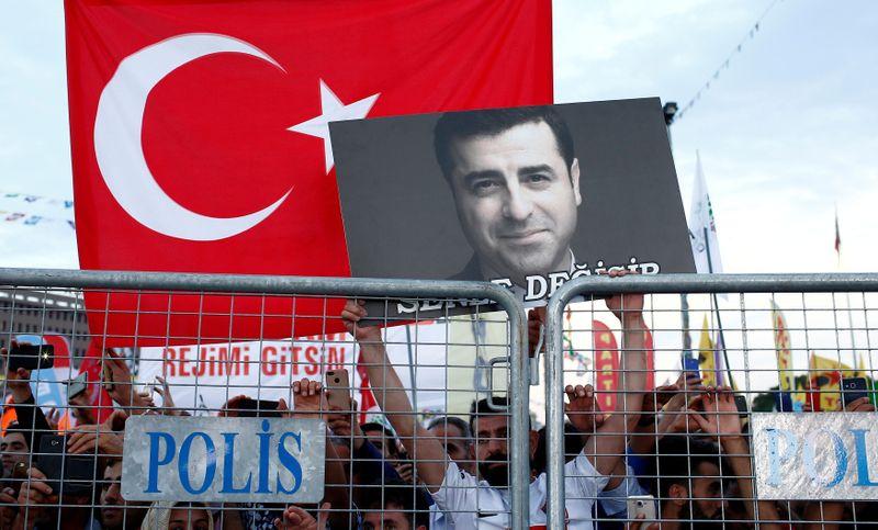 Jailed pro-Kurdish leader unwell but not taken to hospital: lawyer