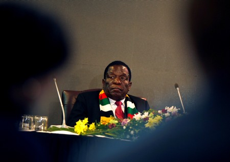 Zimbabwes Mnangagwa fires minister for inappropriate behavior after corruption charge