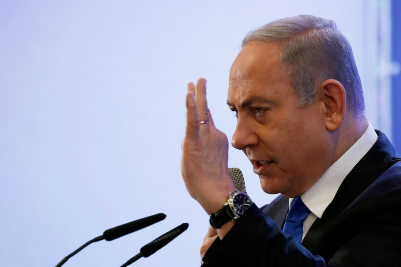 Israels Netanyahu pulls his punches after Sanders calls him a racist
