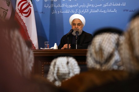 Irans Rouhani rules out bilateral talks with U.S