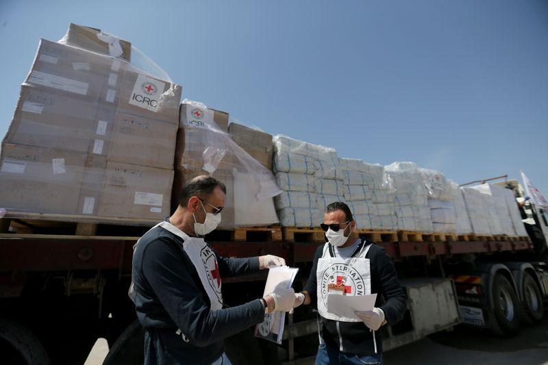 ICRC donates vital medical equipment to Gaza in coronavirus crisis