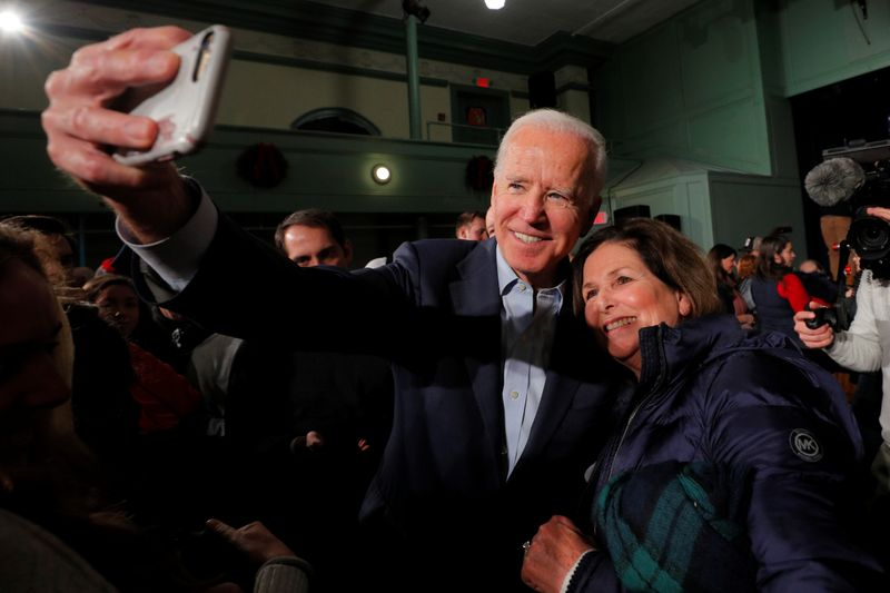 Democratic contender Biden says he would consider a Republican running mate