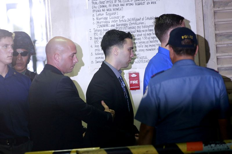 Philippines deports U.S. Marine who killed transgender woman