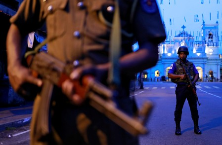 Sri Lanka police chief, ex-defense secretary released on bail in Easter attacks case