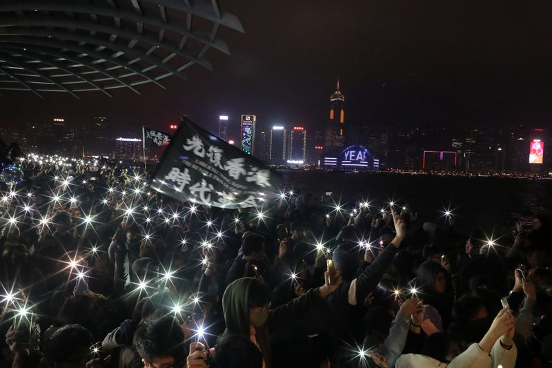 Hong Kong gears up for huge New Years Day anti-government march