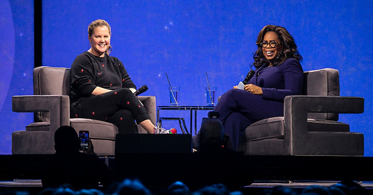 Amy Schumer Opens Up To Oprah About Pregnancy, Parenthood, IVF Treatments — And Poop