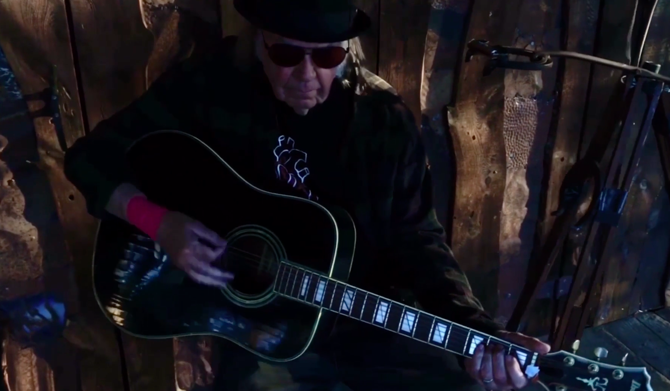 Neil Young Rips Trump in New Version of 'Lookin' for a Leader'