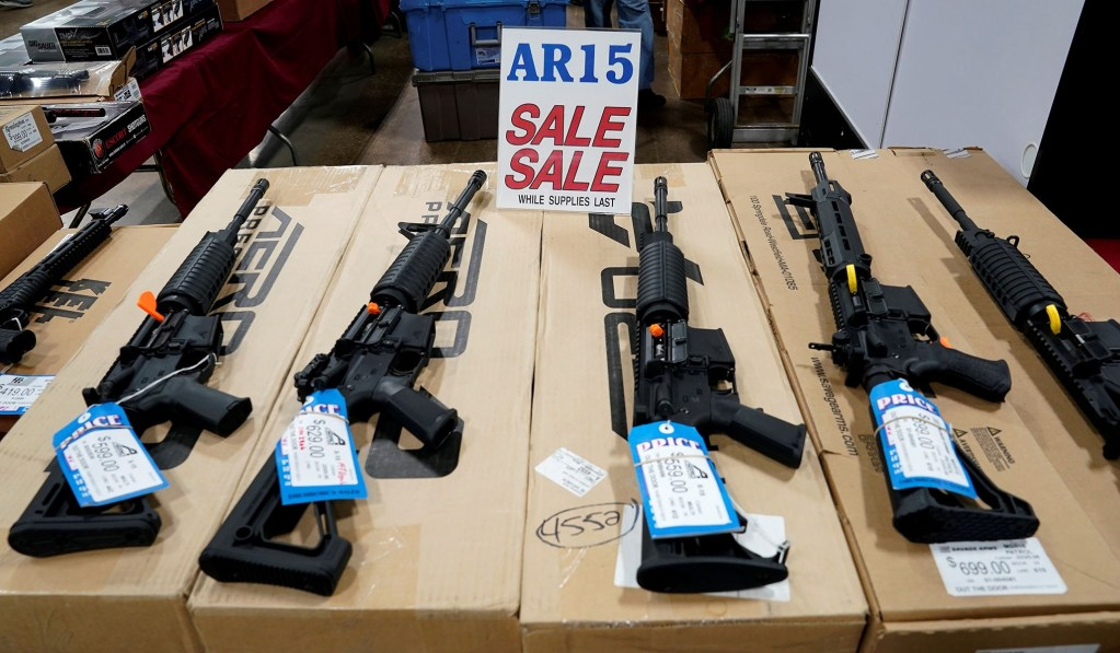 Poll: Majority Backs Banning Assault-Style Rifles, Opposes Federal Gun-Confiscation Program