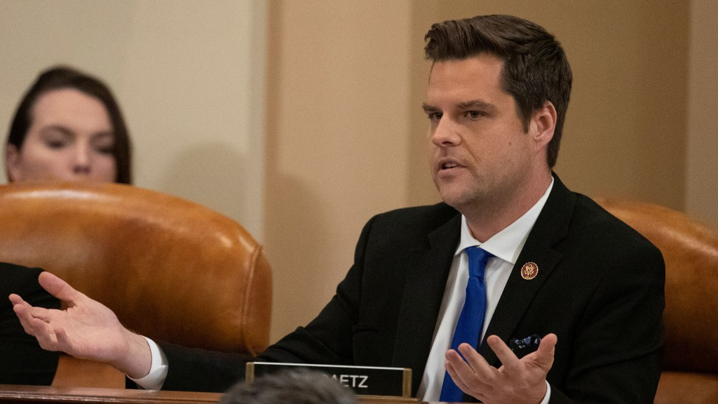 Matt Gaetz: Trump Claims to be 'More Anti-War Than I Am' and Understood My Support for War Powers Resolution