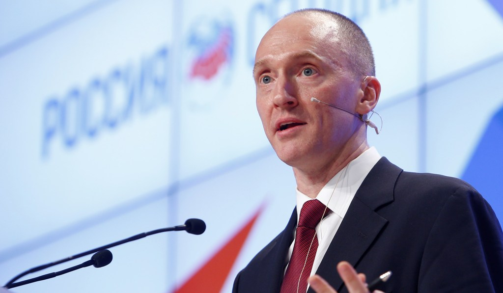 Former Trump Aide Carter Page Sues DNC over Commissioning of Steele Dossier