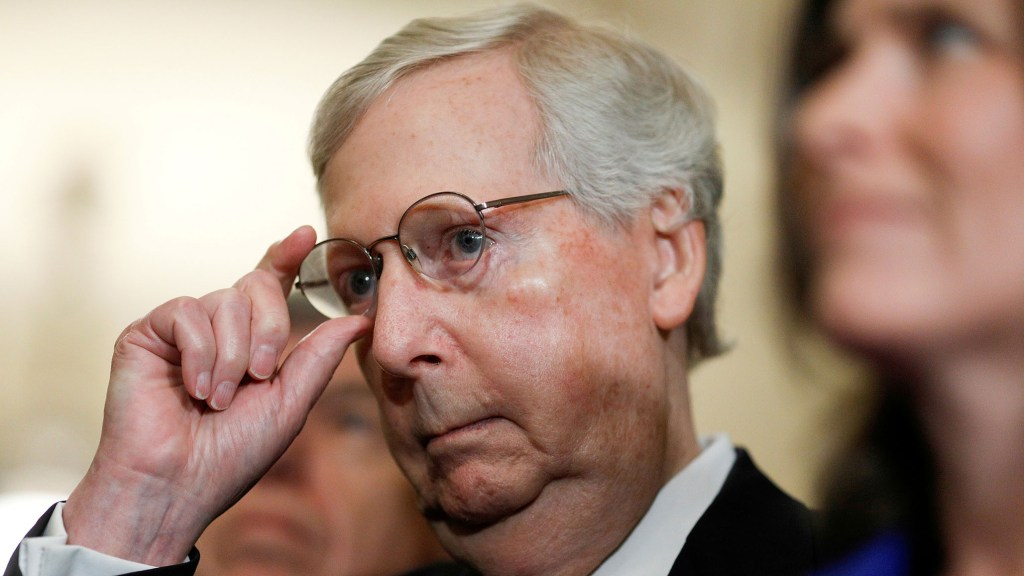McConnell Joins Hawley in Resolution to Throw Out Impeachment