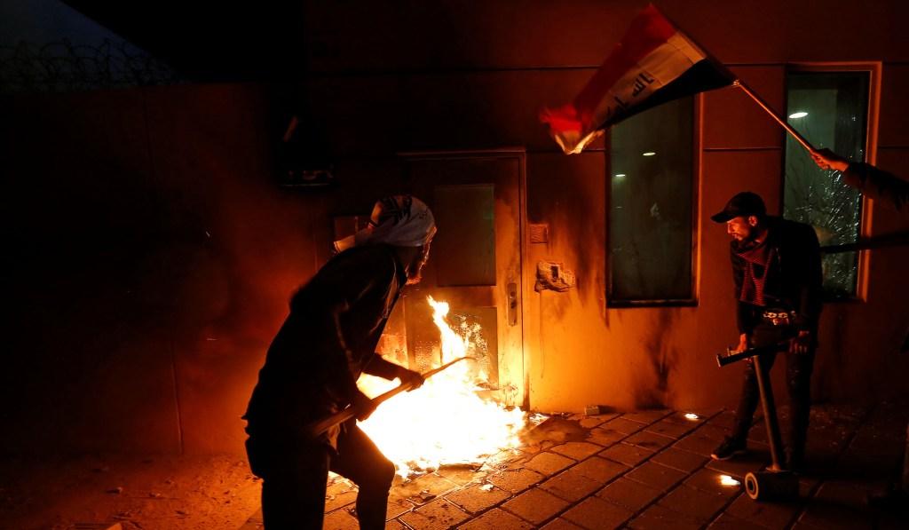 Iran-Backed Militia End Siege of U.S. Embassy in Baghdad