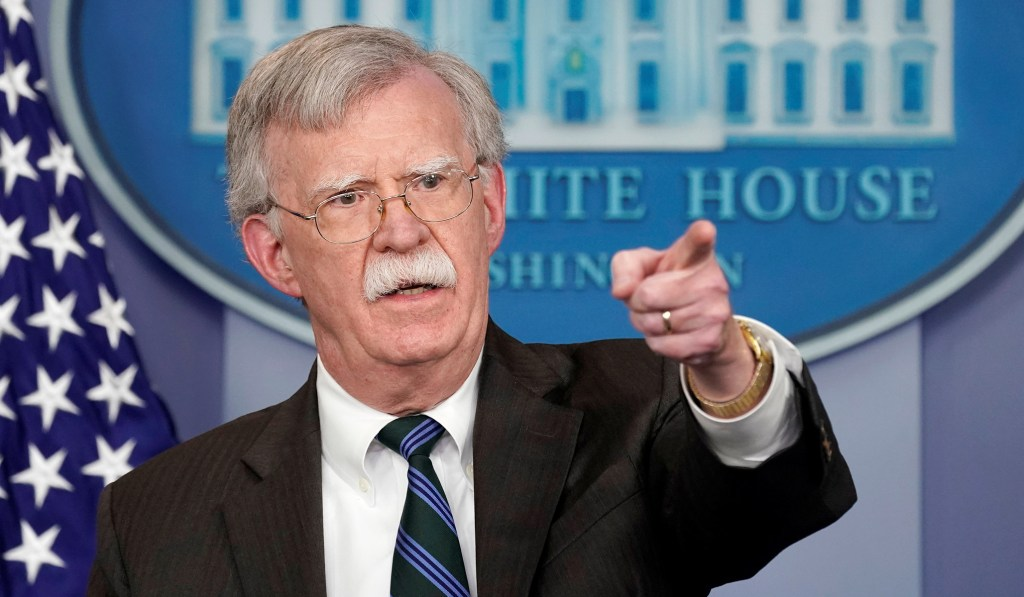 Bolton Pushed Trump to Release Ukraine Military Aid in July