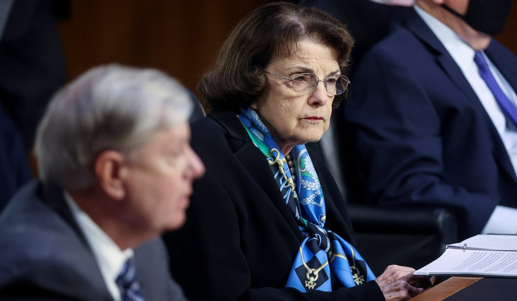 Dianne Feinstein Thanks Lindsey Graham for 'One of the Best Set of Hearings That I've Participated In'