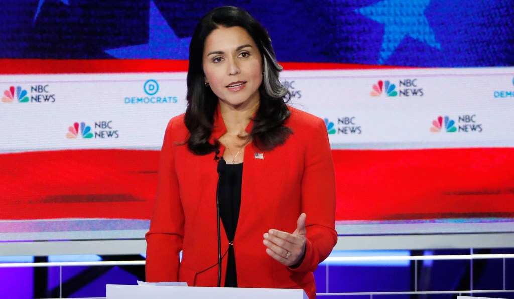 Tulsi Gabbard: The Rest of Democratic Primary Field Has Embraced 'Open Borders'