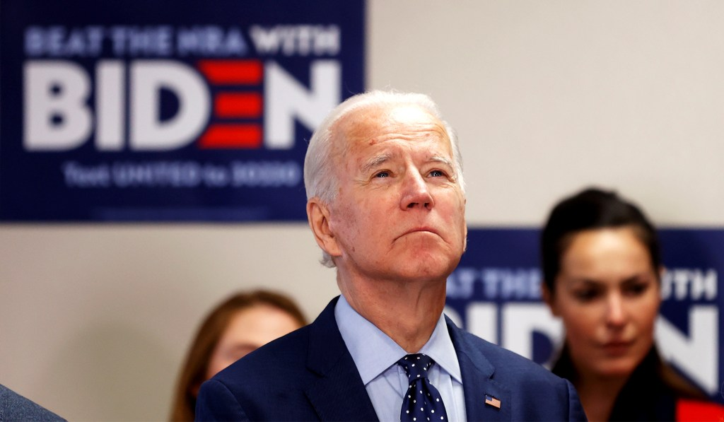 Biden Says if Voters Believe Tara Reade, 'They Probably Shouldn't Vote for Me'