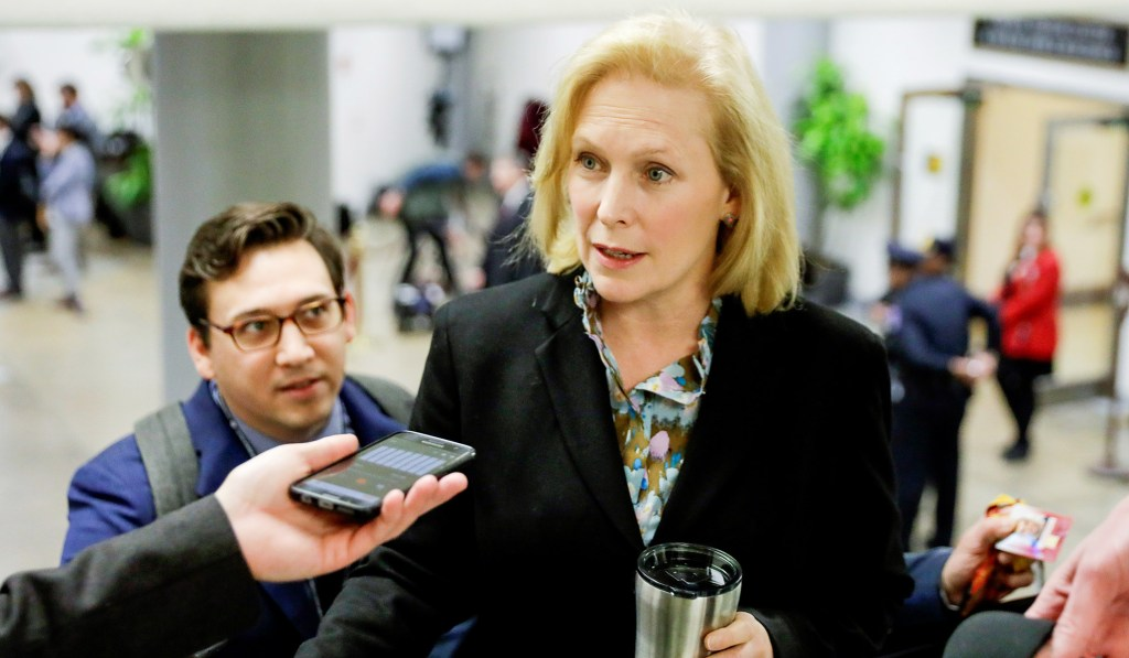 Sen. Gillibrand, Who Suggested FBI Probe of Kavanaugh, Says She 'Stands By' Biden Following Sexual Assault Allegations