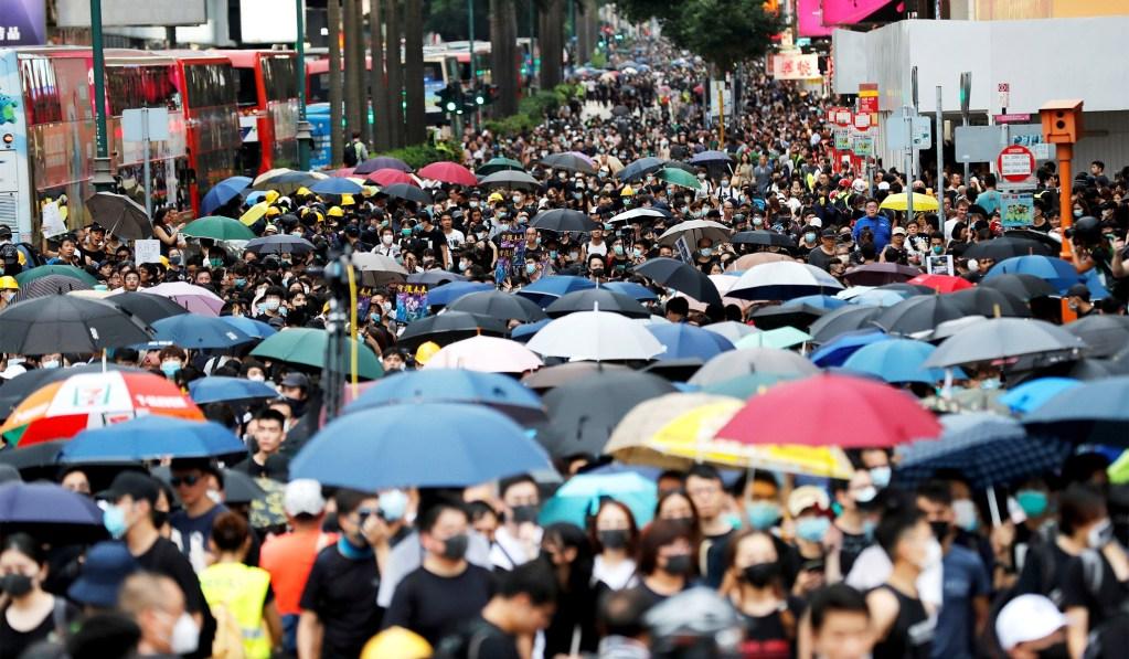 Hong Kong Airport Shuts Down Due to Pro-Democracy Protests