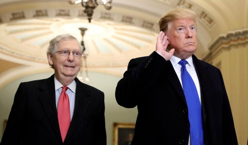 McConnell Dismisses Dem Claim That He's Uniquely Biased: 'You Think Chuck Schumer is Impartial?'