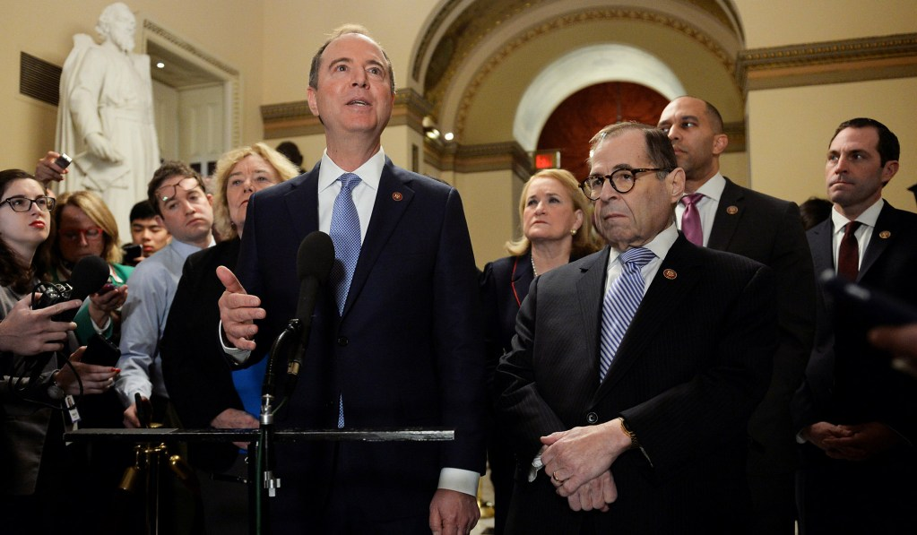 Nadler and Schiff Call for Probe Into AG Barr's Defense of Trump's Atkinson Firing
