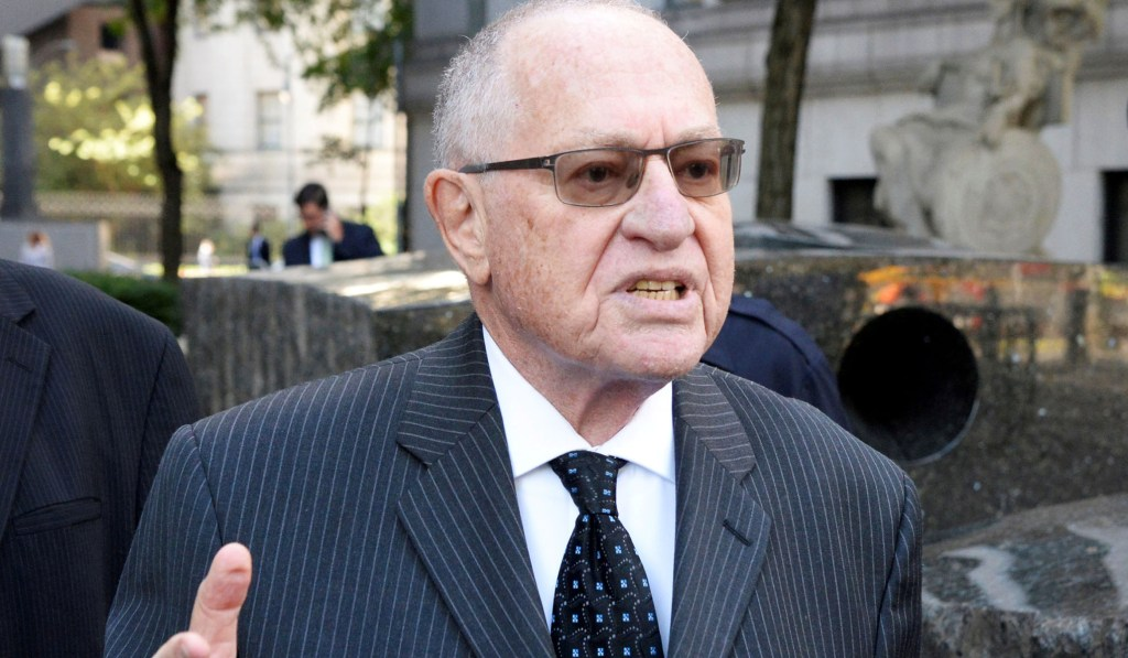 Alan Dershowitz Is Wrong