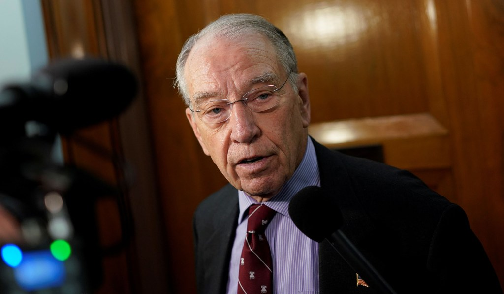 Grassley Expands Probe into DoD Contracts Awarded to Stefan Halper over Spying Concerns
