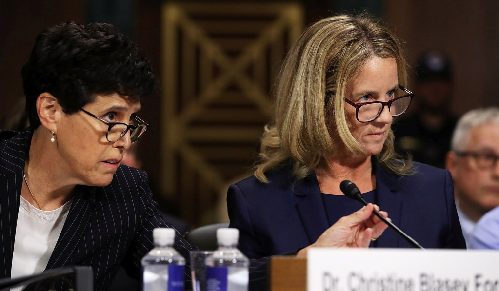 Blasey Ford's Lawyer Admits Client Wants 'Asterisk' Next to Kavanaugh's Name When He Rules on Roe