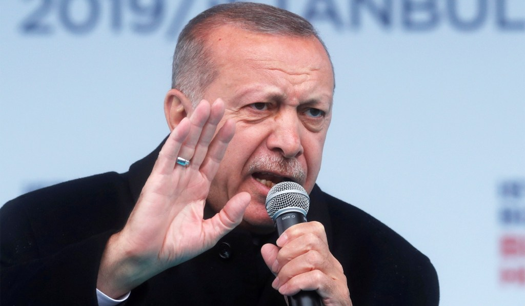 Erdogan Urges U.S. to Hand Over Kurdish Commander as 'Wanted Terrorist'