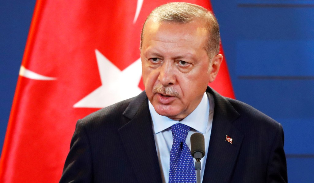 Erdogan Announces Launch of Turkish Offensive Into Syria