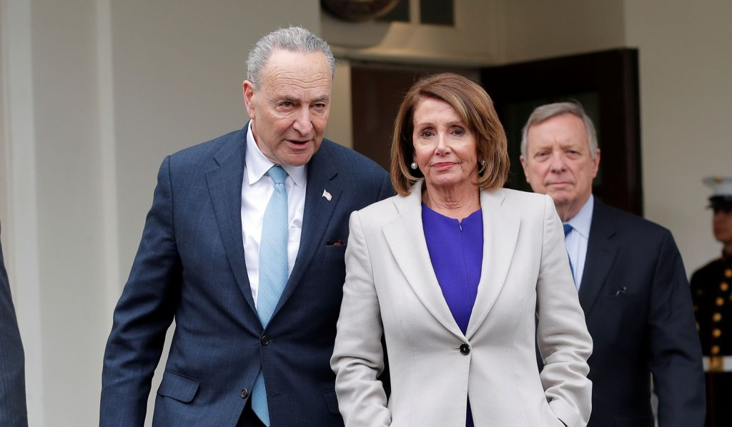 Pelosi, Schumer Stand Firm in Opposing Impeachment
