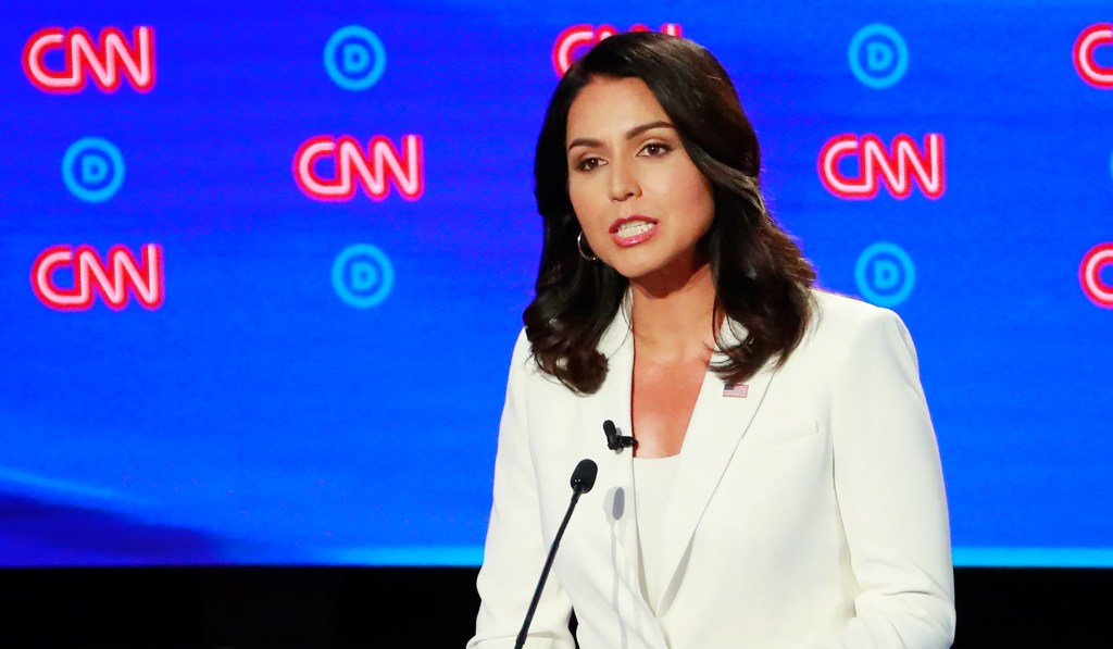 Gabbard Says Harris Owes an Apology to Those Who 'Suffered Under Your Reign' as Prosecutor