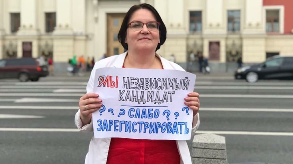 A Battered Professor Leads Moscow's Growing Grassroots Protests Against Put