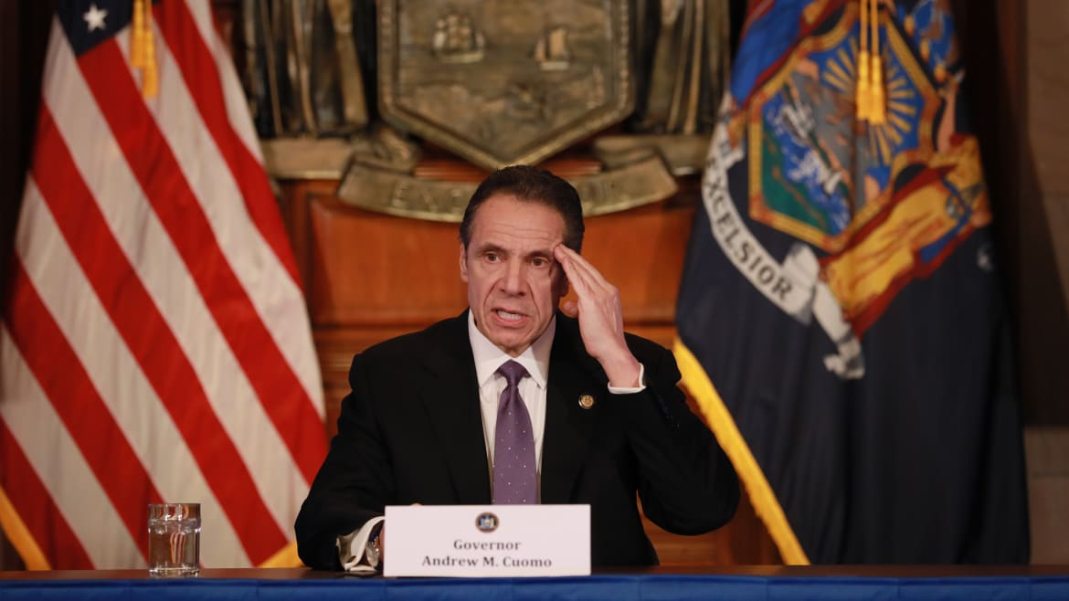 Cuomo Slams McConnell: 'I Dare You' to Let States Declare Bankruptcy
