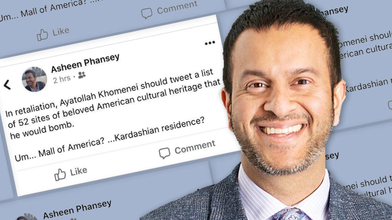 College Professor Out After Joke Suggesting Iran List U.S. Cultural Targets