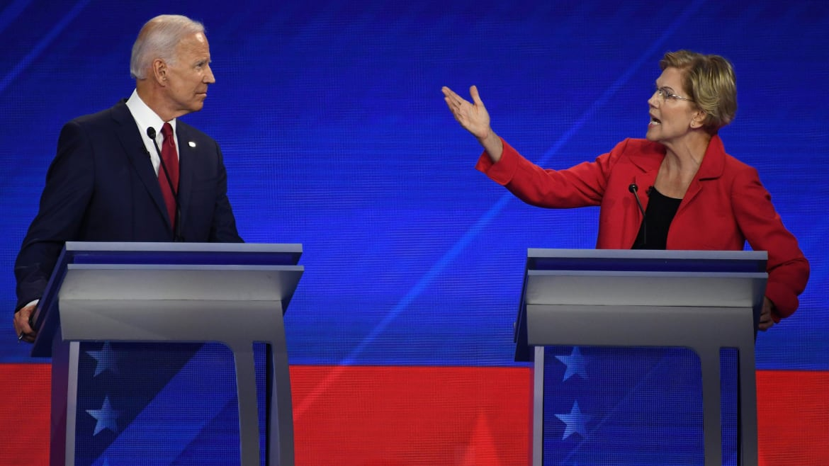 It's Great to See Democrats Falling in Love With Elizabeth Warren—and Terrible to See Them Hating on Joe Biden