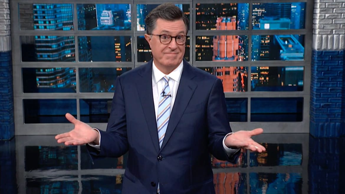Stephen Colbert Outraged Over Trump's Plan to Meet the Taliban Days Before 9/11