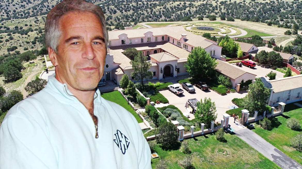 New Mexicans Saw Young Girls With Epstein as He Shopped for His 'Baby Ranch'